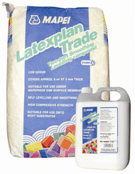 Mapei Latexplan Levelling compound (25kg bag + 5kg bottle) product image